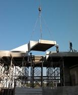 פירוק גשר מוזיאון תל אביב | ניסור גשרים | מ. סעדון ניסור בטון